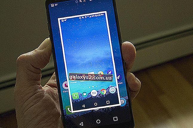 วิธีจับภาพหน้าจอบน LG G7 ThinQ