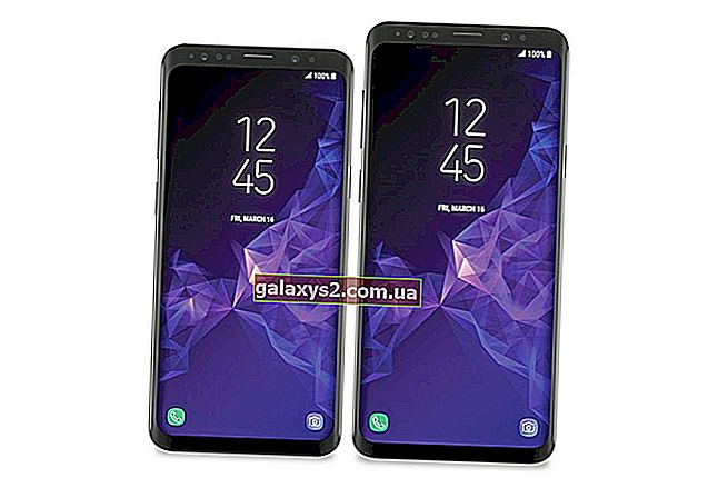 Samsung Galaxy S9 hibaelhárítás