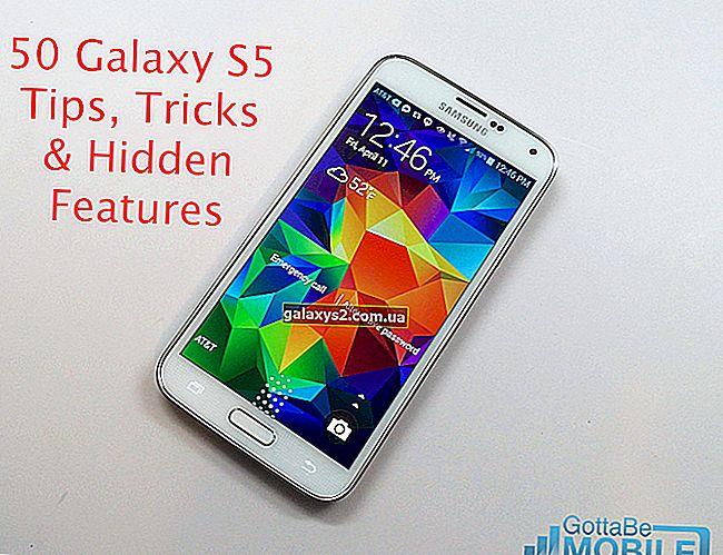 บทช่วยสอน Samsung Galaxy S5 วิธีการใช้งานและเคล็ดลับ