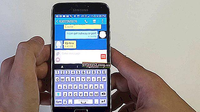 Як виправити зникнення текстових повідомлень Samsung Galaxy Note 9