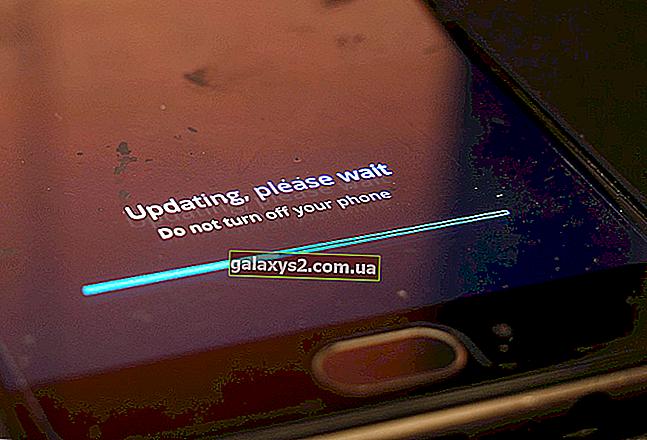A szoftverfrissítés után nem működő Samsung Galaxy S9 mobiladatok javítása
