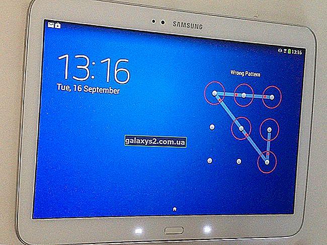 Як скинути налаштування планшета Samsung Galaxy
