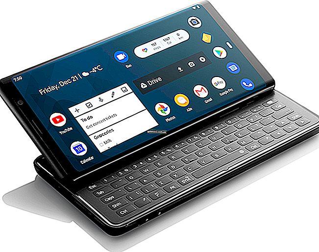 Топ 9 смартфонів Android з фізичною клавіатурою QWERTY