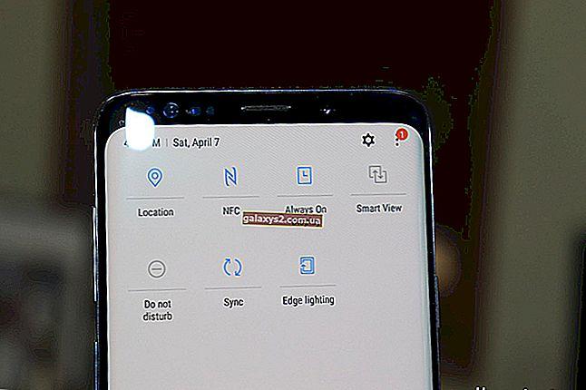 Hogyan lehet tükrözni a TV-t a Galaxy S9-en a Samsung Smart View alkalmazás használatával