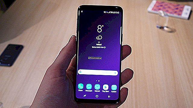 Як виправити сенсорний екран, що не реагує, на Samsung Galaxy S9