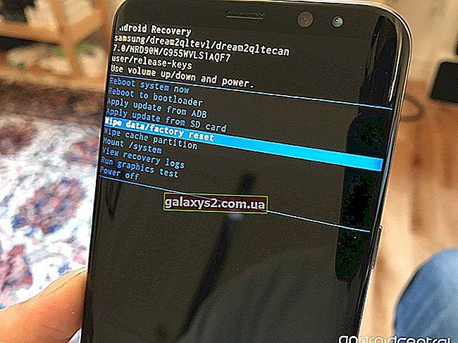 Як відновити заводські налаштування Samsung Galaxy S8