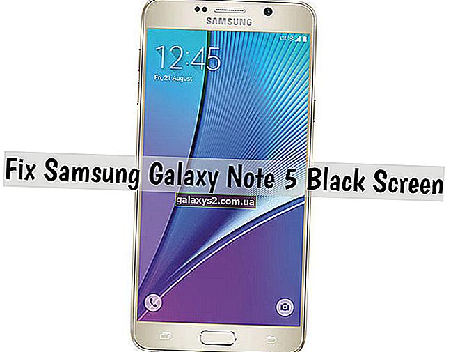 Як виправити Samsung Galaxy Note 5 з чорним екраном, що не реагує, інші проблеми з дисплеєм