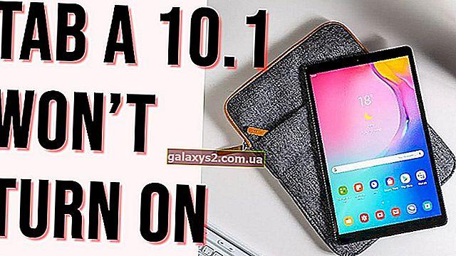 Jak naprawić Galaxy Tab A 10.1 nie włącza się | rozwiązywanie problemów z Galaxy Tab A 10.1 (2019) Brak zasilania