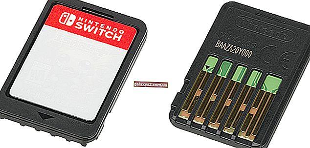 Як виправити не працює ігрову карту Nintendo Switch