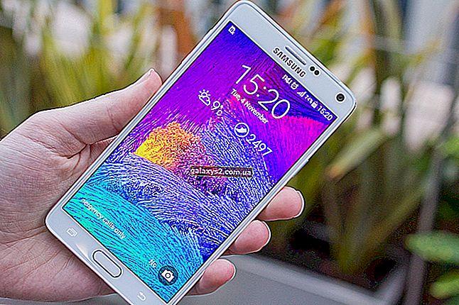 Hogyan lehet megjavítani a Samsung Galaxy Note 4 töltöttségét