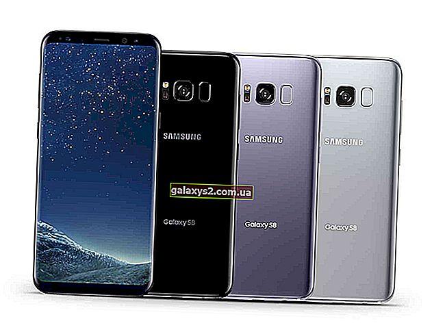 Zaslon na dotik Galaxy S8 ne prepozna dotikov prstov