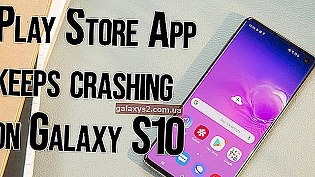 Kaj storiti, če Galaxy S10 Trgovina Google Play nenehno sesuje | popravek za »Na žalost se je trgovina Google Play ustavila«