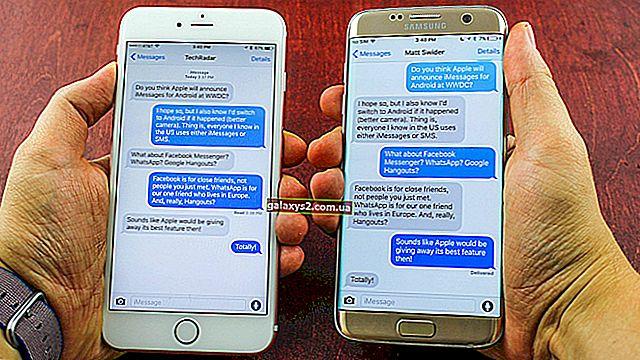 Вирішення проблем із Samsung Galaxy S7 Cant Надіслати SMS та MMS-повідомлення