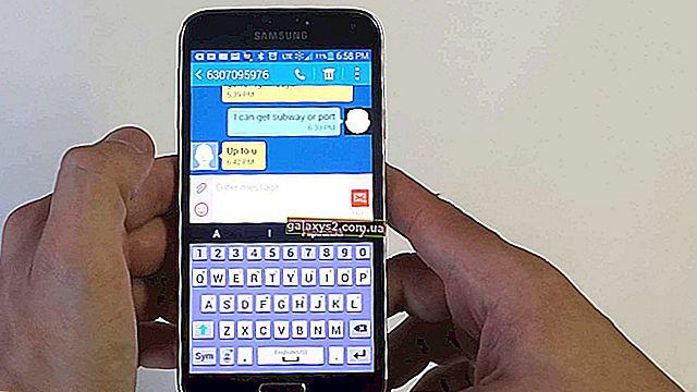 Samsung Galaxy S7 hat den Empfang von Textnachrichten und anderen damit zusammenhängenden Problemen gestoppt