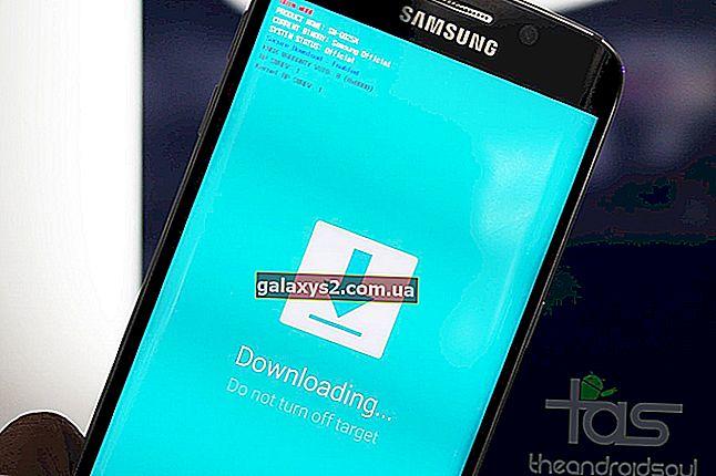 Kako spraviti Samsung Galaxy S6 Edge iz zagonske zanke