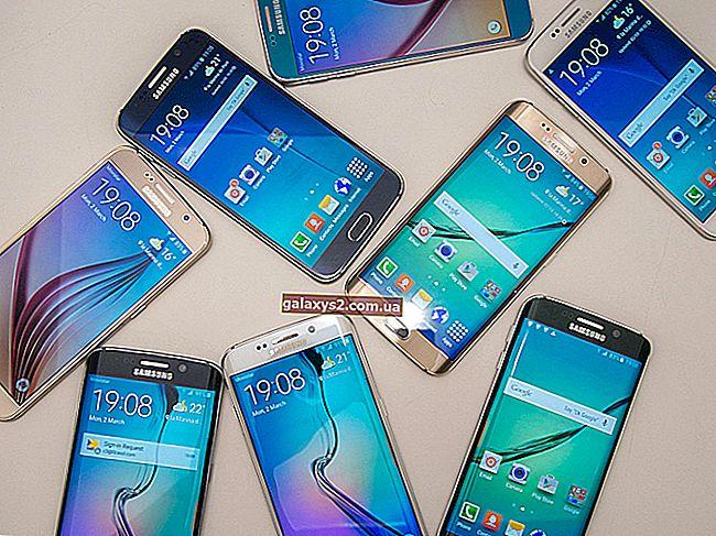 So machen Sie einen Screenshot auf dem Galaxy Tab S6