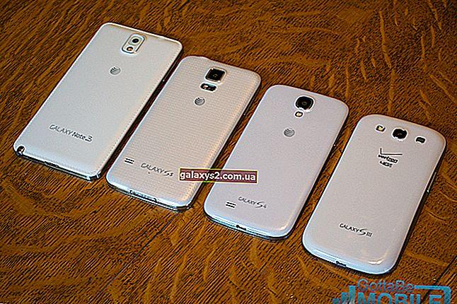 Samsung Galaxy S4 บู๊ตในเซฟโหมด
