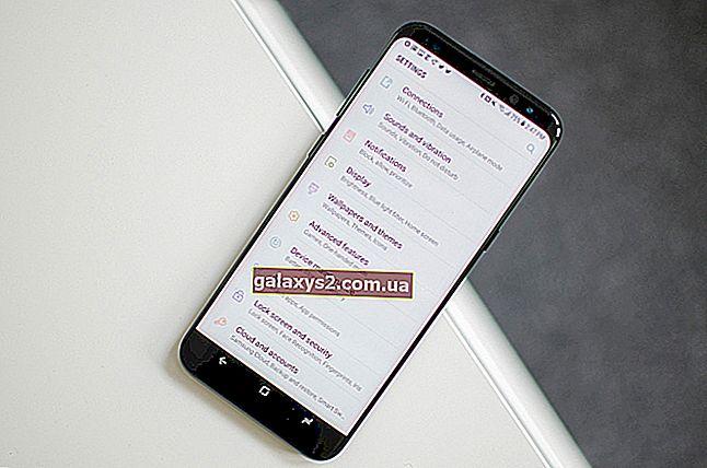 Co zrobić, jeśli ekran dotykowy Galaxy S8 nie działa poprawnie