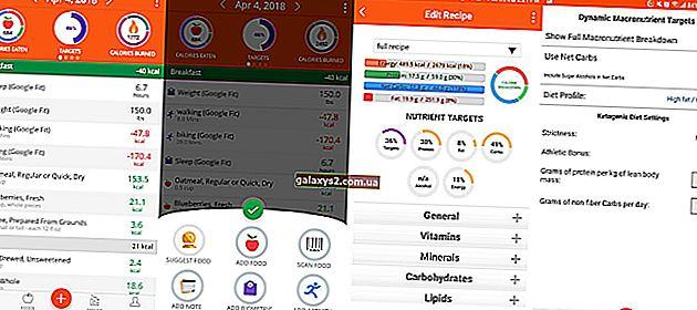 5 найкращих програм для підрахунку калорій для Android