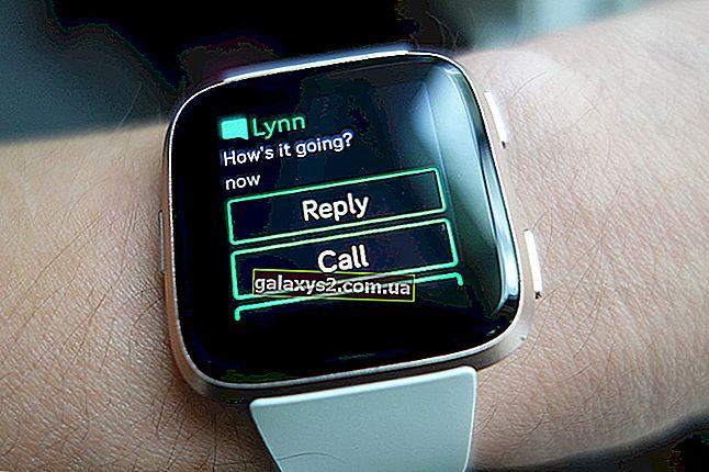 So erhalten Sie Textnachrichten auf Fitbit Versa