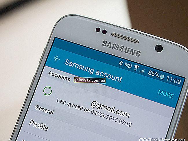 So fügen Sie ein Samsung-Konto auf dem Galaxy S20 hinzu und entfernen es