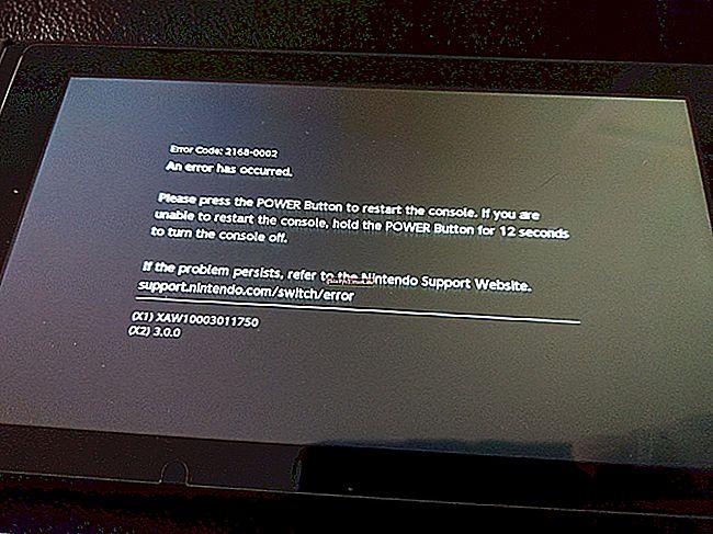 วิธีการแก้ไขปัญหารหัสข้อผิดพลาด Nintendo Switch 2110-3127