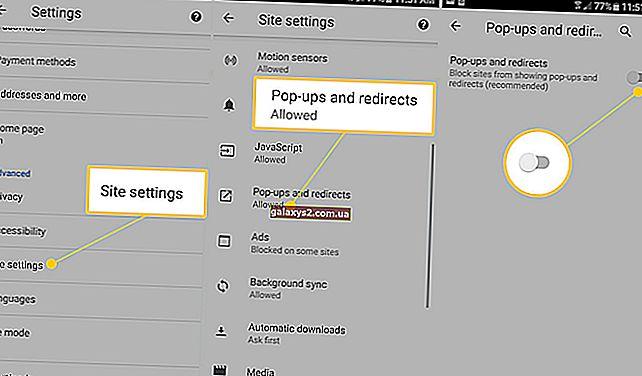 Як заблокувати спливаючі оголошення в Google Chrome (Android 10)