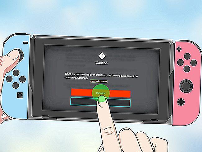 วิธีการรีเซ็ตฮาร์ดบน Nintendo Switch (รีเซ็ตเป็นค่าจากโรงงาน)
