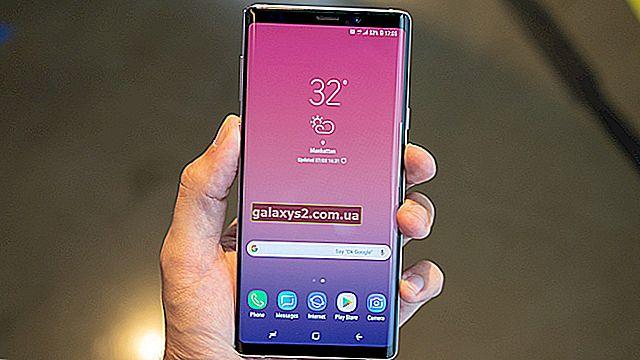 Як зробити скріншот на своєму новому Samsung Galaxy Note 9?