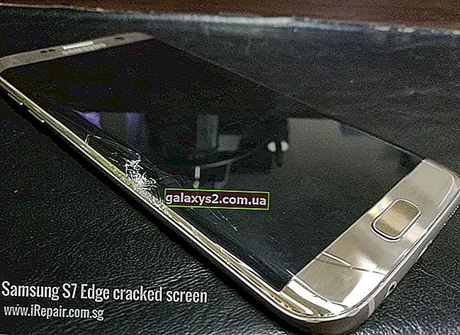 วิธีแก้ไขปัญหาการกะพริบของหน้าจอ Samsung Galaxy S7 Edge การแสดงผลเป็นสีดำและสีขาว