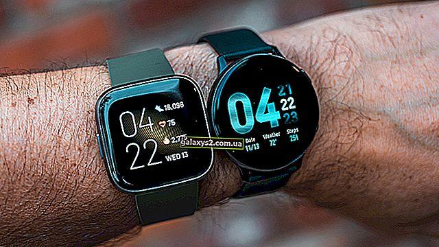 Galaxy Watch против Fitbit Versa - лучшие умные часы 2020 года