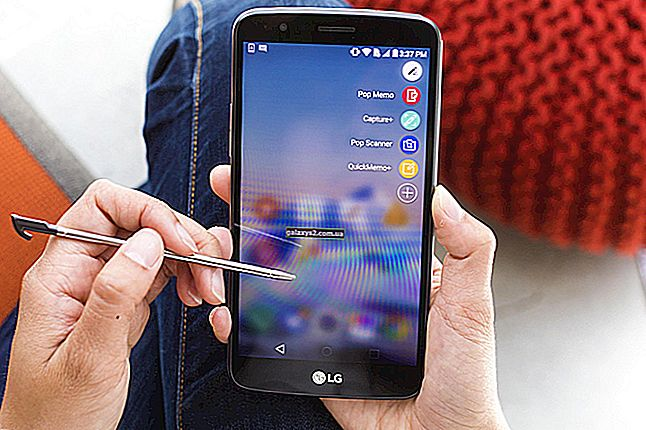 วิธีแก้ไขปัญหา LG Q Stylo 4 Black Screen of Death