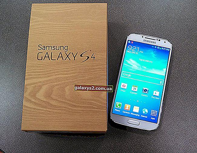 4 Проблеми з підключенням Wi-Fi / Інтернету до Samsung Galaxy S4