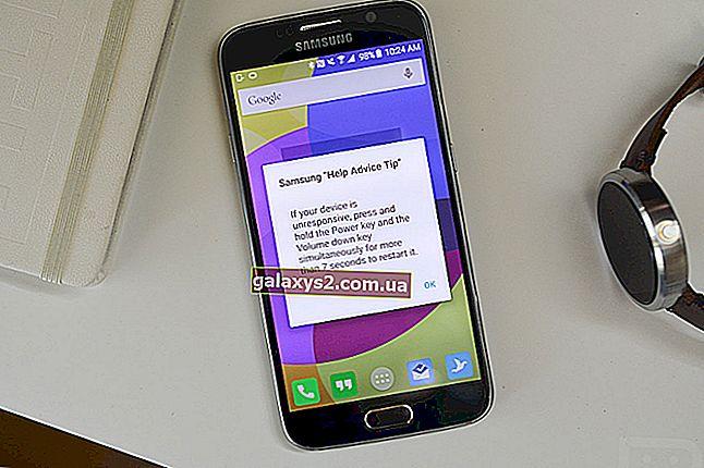 So beheben Sie das eingefrorene Samsung Galaxy S6 Edge, das nicht mehr reagiert