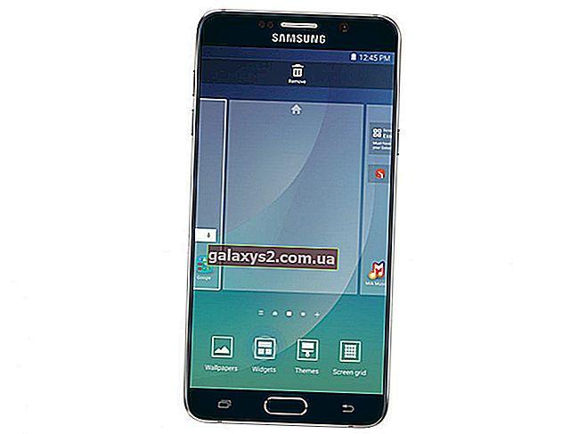 Panduan Layar Beranda Samsung Galaxy Note 5: Sesuaikan dan Kelola Layar